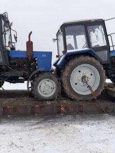 Комплексная транспортировка тракторов